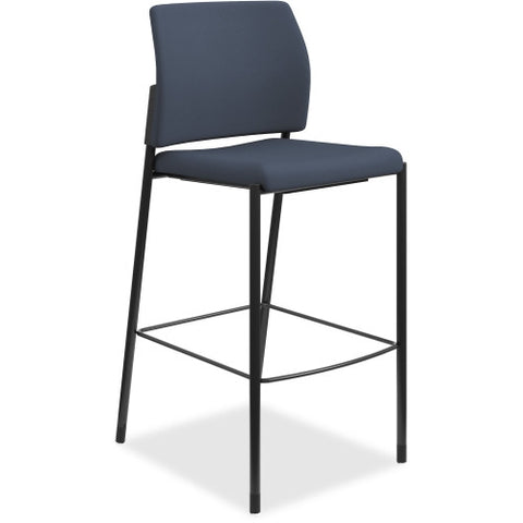 HON Accommodate Cafe Stool ; Color: Cerulean; UPC: 020459245548