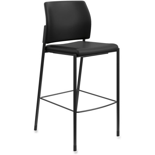 HON Accommodate Cafe Stool ; Color: Black; UPC: 020459246583