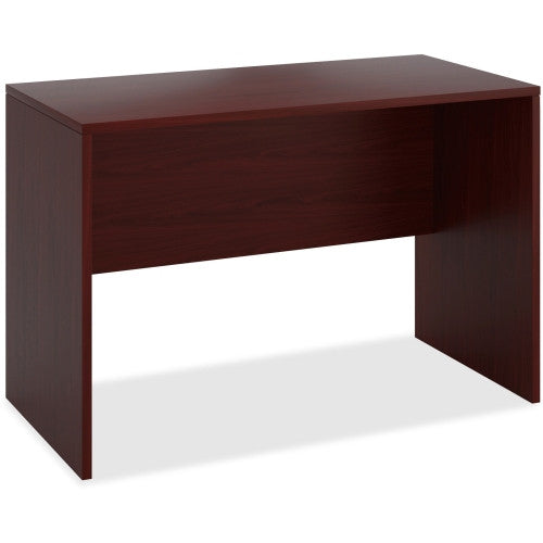 HON 10500 Series Standing Height Desk Shell in Mahogany ; UPC: 641128544634