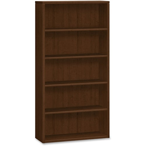 "HON 10500 Series Bookcase | 5 Shelves | 36""W x 13-1/8""D x 71""H 