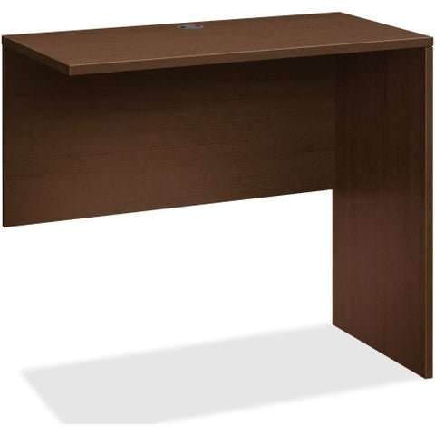 HON 10500 Series Standing Height Return Shell in Mocha Finish ;