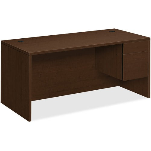 "HON 10500 Series Right Pedestal Desk | 1 Box / 1 File Drawer | 66""W x 30""D x 29-1/2""H 