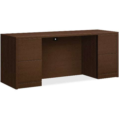 HON 10500 Series Double Pedestal Credenza with Kneespace HON105900MOMO ; UPC: 791579862600