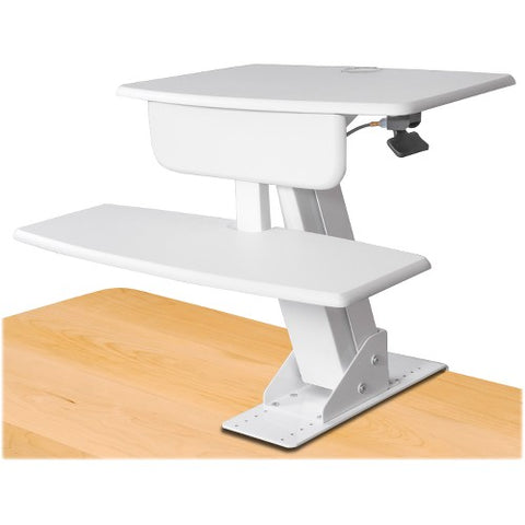 Kantek Desk-mounted Sit-to-Stand Workstation KTKSTS800W ; UPC: 750333658040