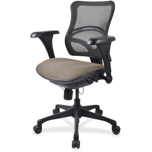 Lorell Mid-back Fabric Seat Chair ; UPC: 035255557252