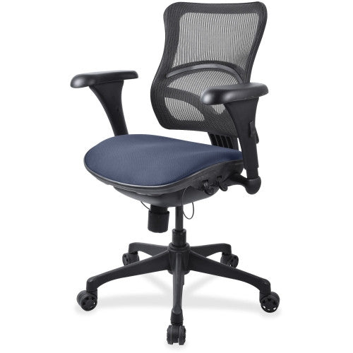 Lorell Mid-back Fabric Seat Chair ; UPC: 035255557276