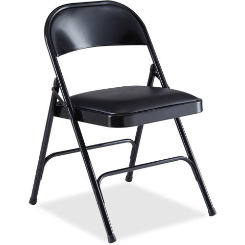 Lorell Padded Seat Folding Chair ; UPC: 035255625265