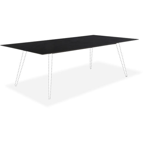 Lorell Black glass Conference Table Top ; UPC: 035255596282
