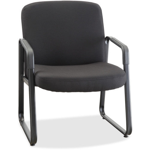 Lorell Big and Tall Fabric-Upholstered Guest Chair ; UPC: 035255845861