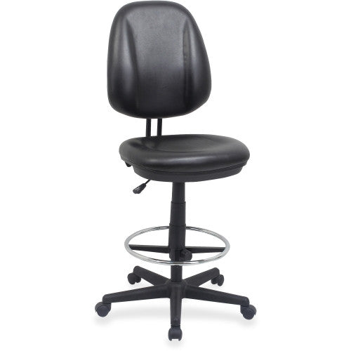 Lorell Sitting Stool in black ; UPC: 035255845885