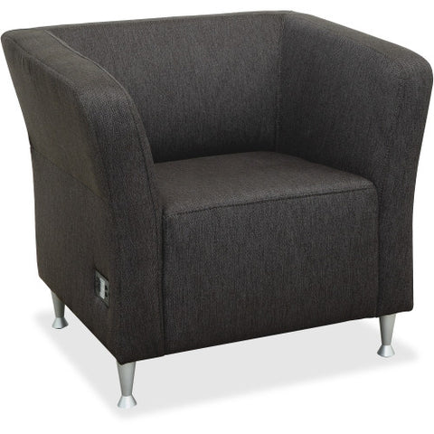Lorell Fuze Lounger Chair ; UPC: 035255869102