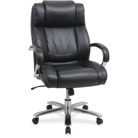 Lorell Big and Tall Leather Chair with UltraCoil Comfort ; UPC: 035255998451