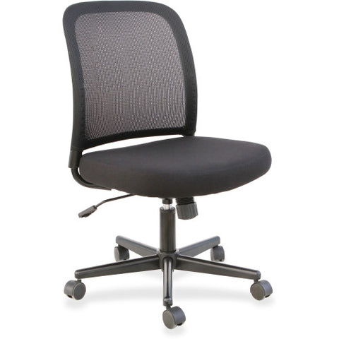 Lorell Mesh Back Armless Task Chair ; UPC: 035255833042