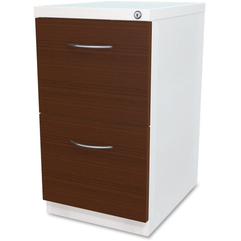 Lorell File/File Laminate Wood Mobile Pedestal ; UPC: 035255344227
