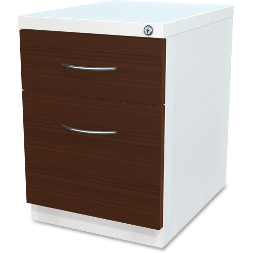 Lorell Box/File Laminate Wood Mobile Pedestal ; UPC: 035255344234