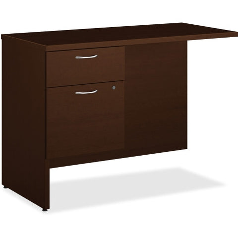 HON 101 Series Mocha Laminate Left Pedestal Return ; UPC: 888206519423