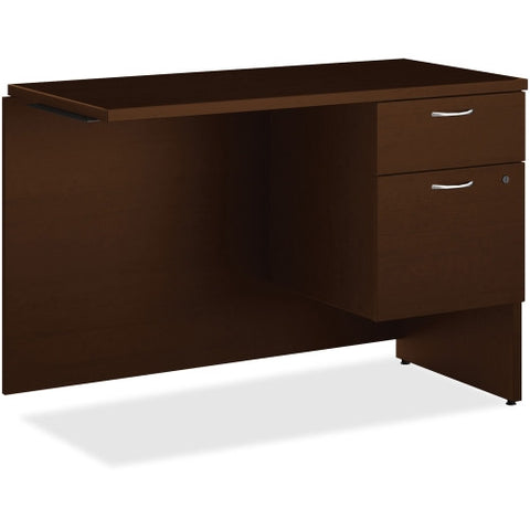 HON 101 Series Mocha Laminate Right Pedestal Return ; UPC: 888206519430