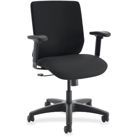 HON ComfortSelect B6 Task Chair in Black ; UPC: 888206147060