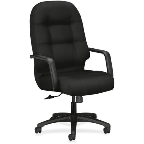 HON Pillow-Soft Executive High-Back Chair in Black ; UPC: 745123089289