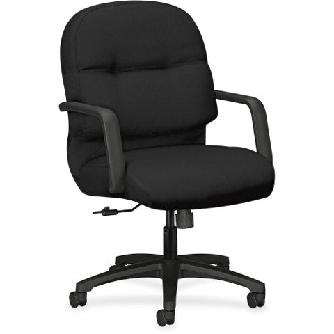 HON Pillow-Soft Executive Mid-Back Chair in Black ; UPC: 089191344940