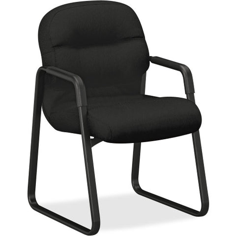 HON Pillow-Soft Guest Chair in Black ; UPC: 020459892209