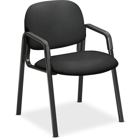 HON Solutions Seating Guest Chair in Black ; UPC: 631530001290