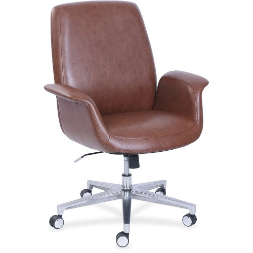 La-Z-Boy ComfortCore Gel Seat Collaboration Chair LZB48799BRW ; UPC: 656292487991