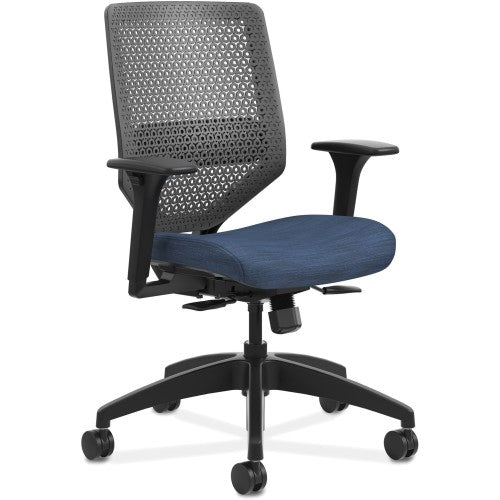 HON Solve Seating Charcoal Mid-back Task Chair HONSVR1ACLC90TK ; UPC: 888206238508