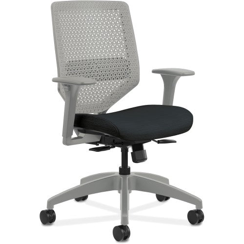 HON Solve Seating Charcoal Mid-back Task Chair HONSVR1AILC10TK ; UPC: 888206238942