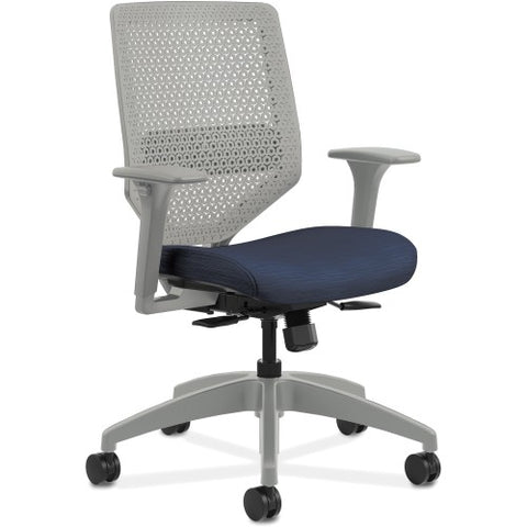 HON Solve Seating Charcoal Mid-back Task Chair HONSVR1AILC90TK ; UPC: 888206238966