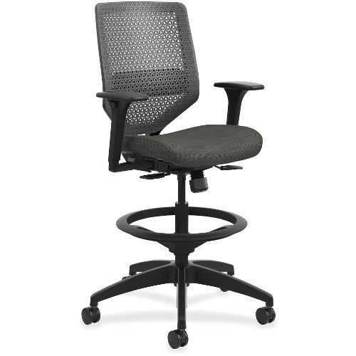 HON Solve Seating ReActiv Fabric Back Task Stool HONSVSU1ACLC10T ; UPC: 888206776031