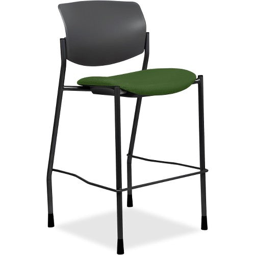 Lorell Made in America Fabric Seat Contemporary Stool in Fern Green ; UPC: 035255830751