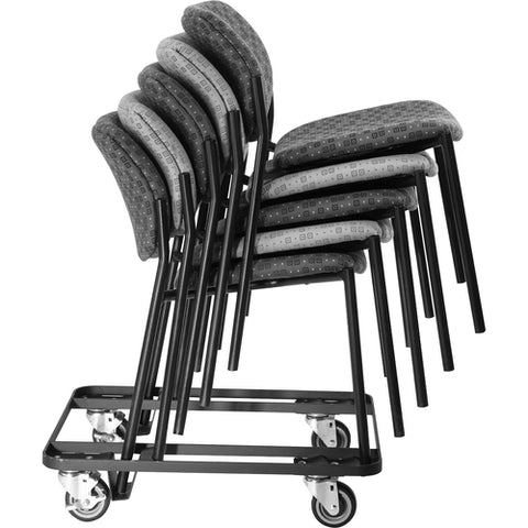 Lorell Made in America Stacking Dolly f/4-Leg Stack Chairs ; UPC: 035255830751