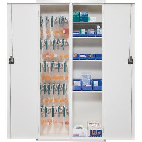 FireKing Key Lock Medical Storage Cabinet FIR72MSCRWT ; UPC: 033983086969
