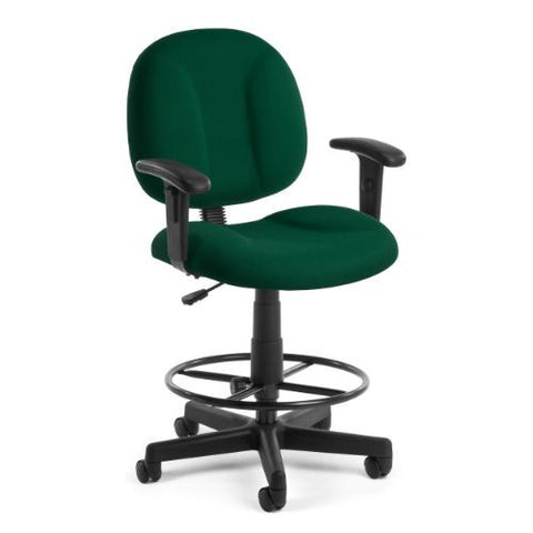 "OFM Comfort Series ""Superchair"" with Arms and Drafting Kit; UPC:845123011065"