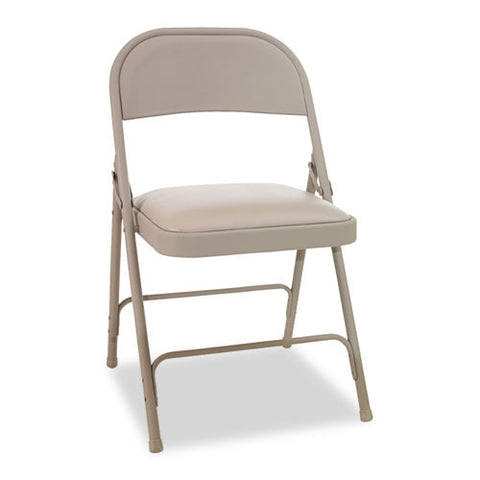 Alera Steel Folding Chair with Two-Brace Support ALEFC94VY50T,  (UPC:042167960155)