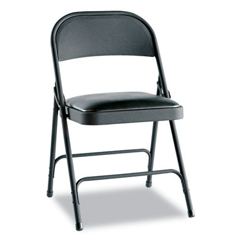 Alera Steel Folding Chair with Two-Brace Support ALEFC94VY10B,  (UPC:042167960209)