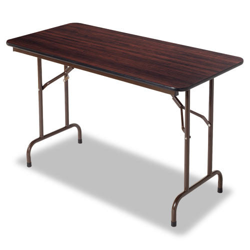 Alera Wood Folding Table ALEFT724824WA,  (UPC:042167200022)