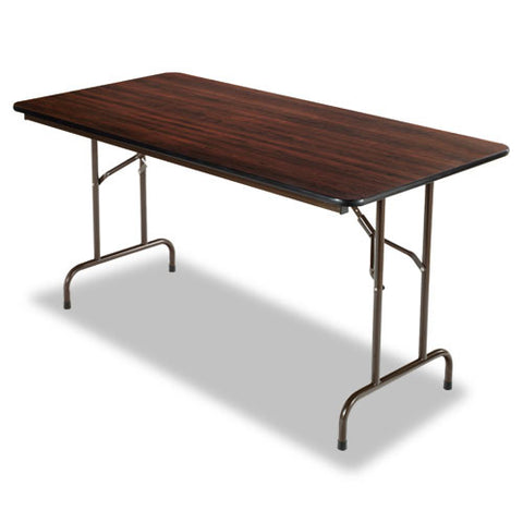 Alera Wood Folding Table ALEFT726030WA,  (UPC:042167200015)