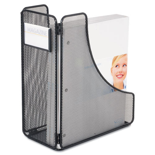 Safco Onyx Mesh Magazine Holder SAF3270BL, Black (UPC:073555327021)