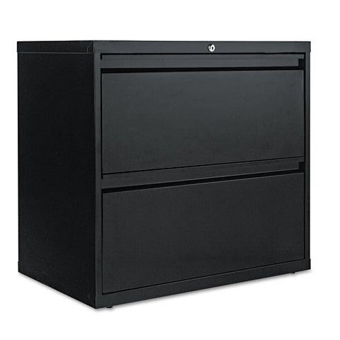 ALERA two-drawer lateral file cabinet ; ALEF3029BL ; (042167400026)