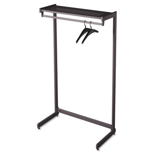 Quartet One-Shelf Garment Rack ; (034138202135); Color:Putty