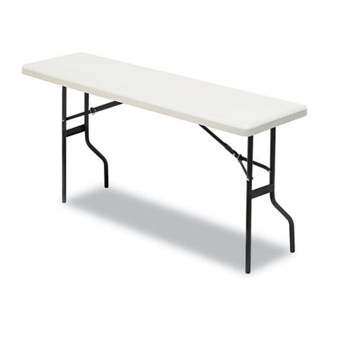 Iceberg IndestrucTable TOO 1200 Series Folding Table ICE65353, Gray (UPC:674785653531)