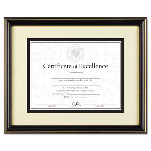 Dax Gold Accent Hi-Gloss Document Frame ; (076795266198)