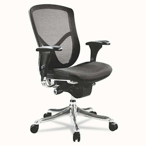 Alera EQ Series Ergonomic Multifunction Mid-Back Mesh Chair ALEEQA42ME10A,  (UPC:042167381073)