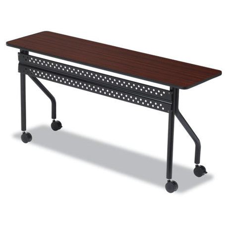Iceberg OfficeWorks 68068 Mobile Training Table ICE68068, Mahogany (UPC:674785680681)