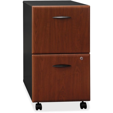 Bush Series A 2 Drawer Mobile Pedestal - Assembled BSHWC94452SU, Cherry (UPC:042976944926) ; Image 1