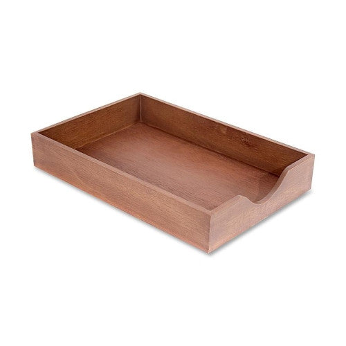 Carver Hedburg Genuine Walnut Desk Tray CVRCW07222, Walnut (UPC:018387072220)