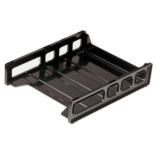 Officemate Front Loading Letter Tray OIC21031, Gray (UPC:042491210315)