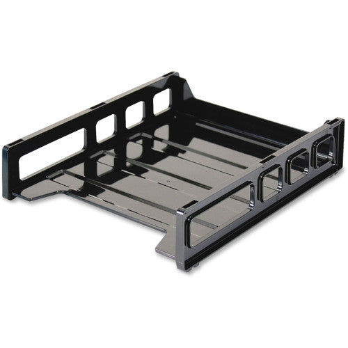 Officemate Front Loading Letter Tray OIC21032, Black (UPC:042491210322)